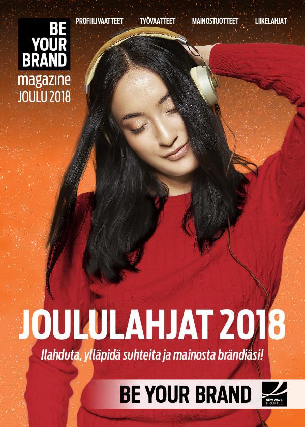 New Wave Profile FI BE YOUR BRAND - JOULUKUVASTO 2018