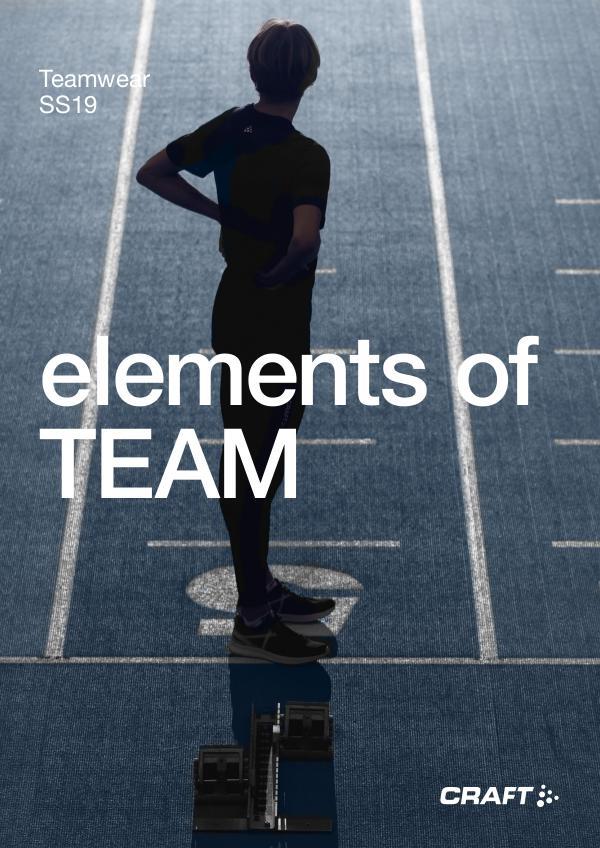 Teamwear Catalogue SS19 EN