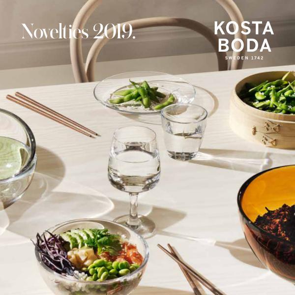 Novelties Kosta Boda SS19