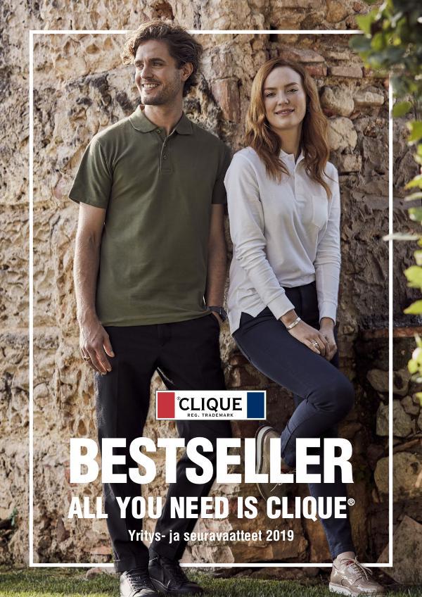 Clique SUOMI Bestseller kevät / kesä 2019