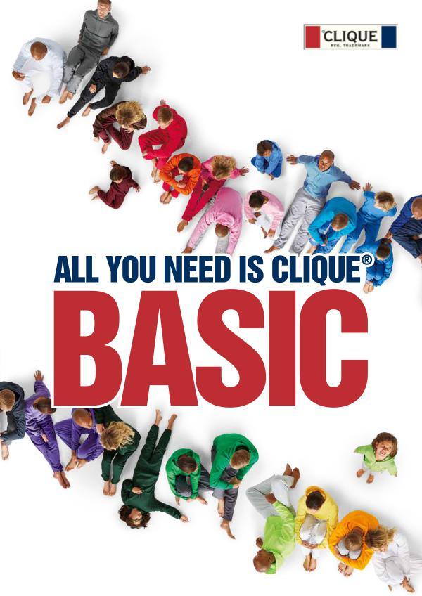 New Wave GmbH Clique Basic Flyer 2019