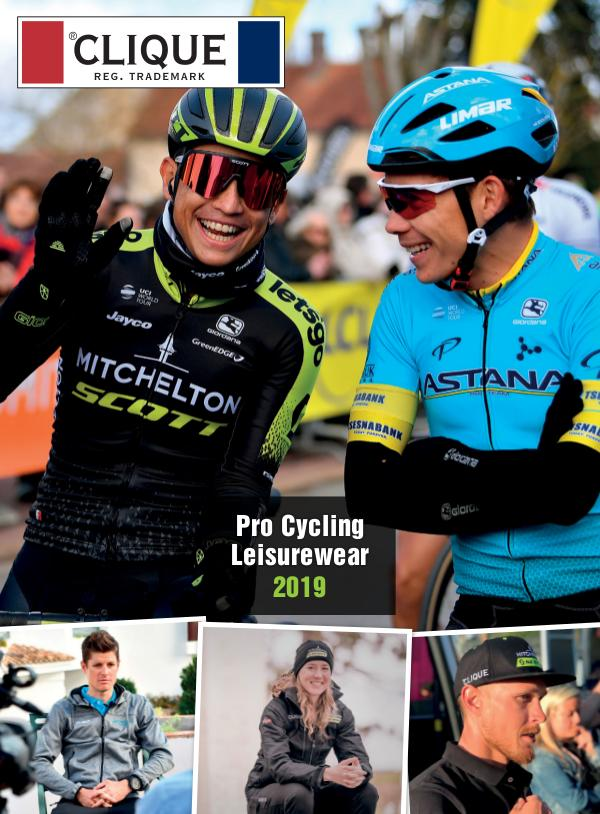 CLIQUE Pro Cycling Leisurewear 2019
