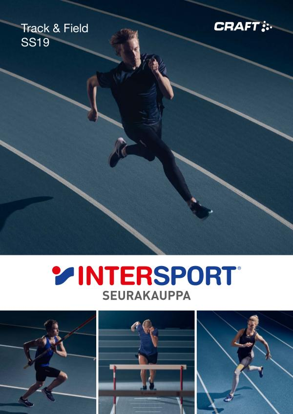 CRAFT Suomi Yleisurheilu kuvasto 2019 INTERSPORT