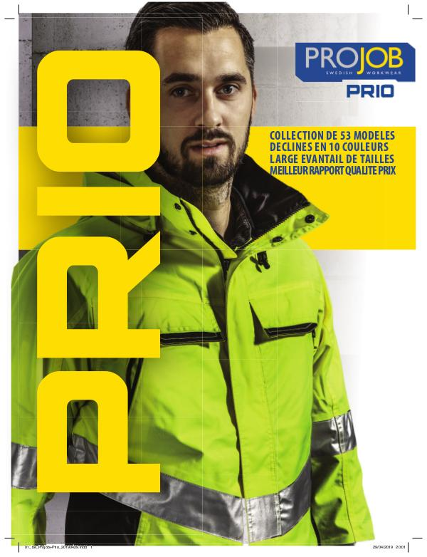 TEXET FRANCE - PROJOB Projob+Prio_PRINT