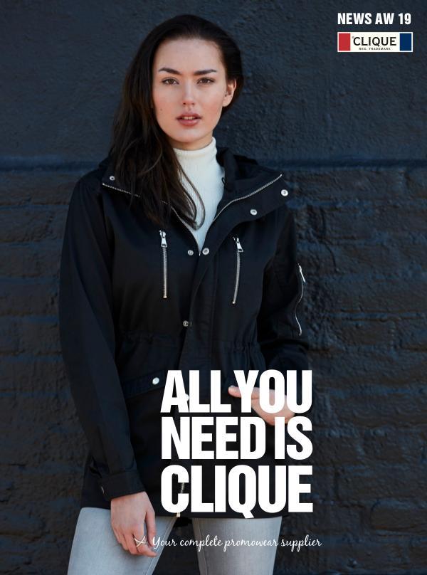 Clique SUOMI CLIQUE - Syksy / Talvi 2019 kuvasto retail