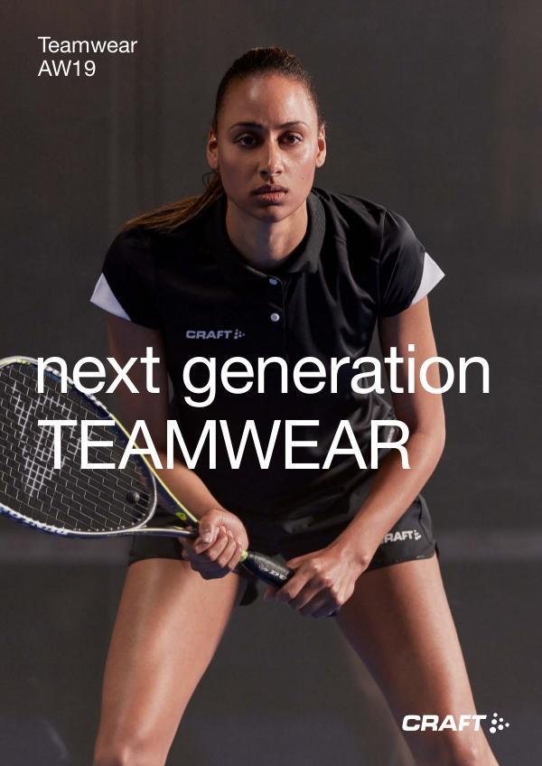 CRAFT Suomi Teamwear Syksy / Talvi 2019 RETAIL