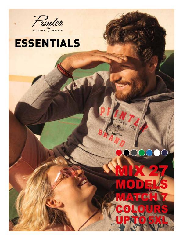 Printer Essentials Printer Essentials AW 2019 BENL