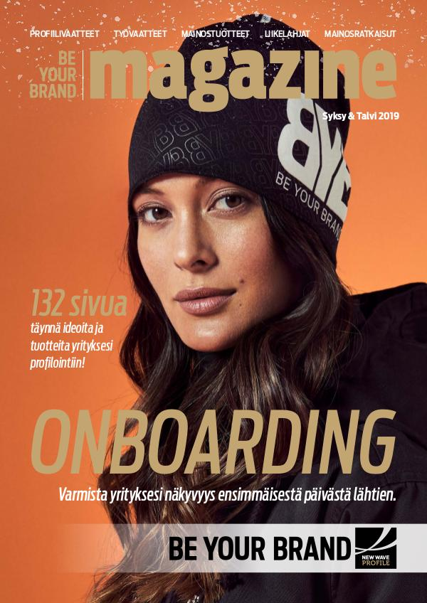 New Wave Profile FI Be Your Brand Magazine syksy/talvi 2019