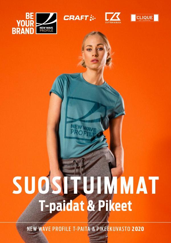 New Wave Profile FI Suosituimmat T-paidat & pikeet 2020