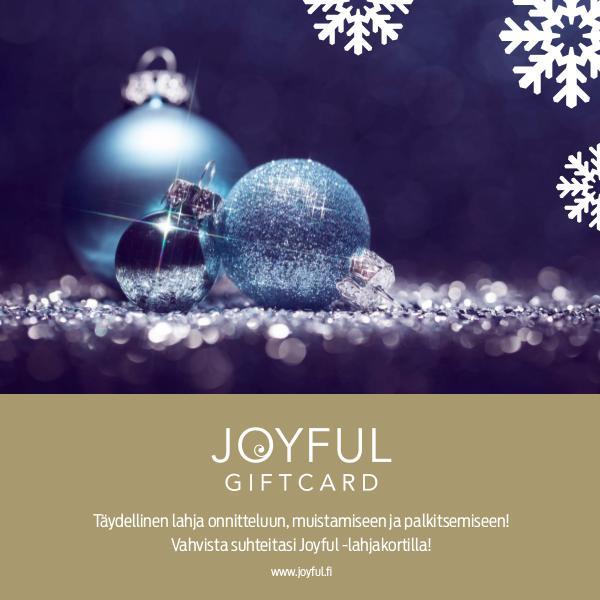 New Wave Finland Joyful -lahjakortti JOULU 2016