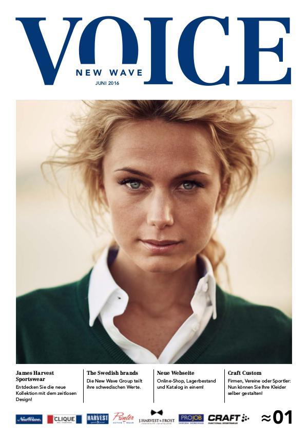 New Wave Switzerland New Wave Voice Nr1 (Juni 2016) - DE