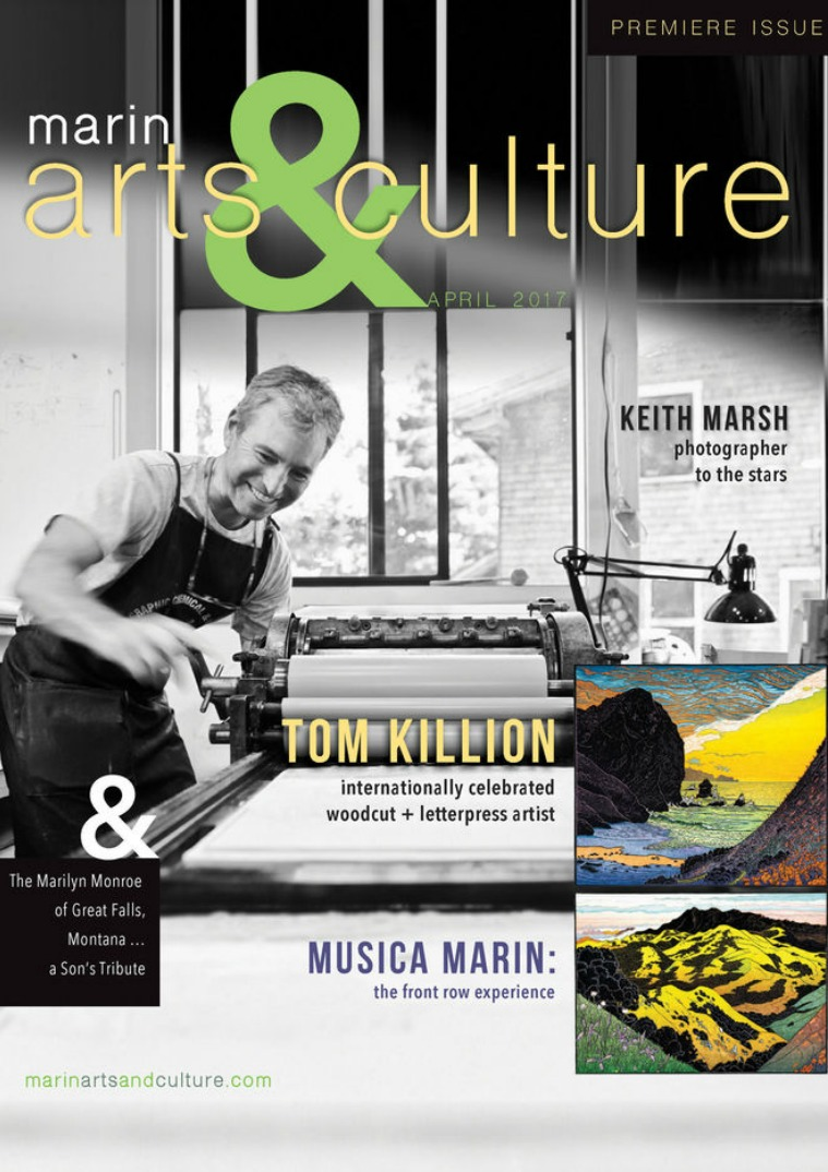 Marin Arts & Culture Premiere Issue April 2017