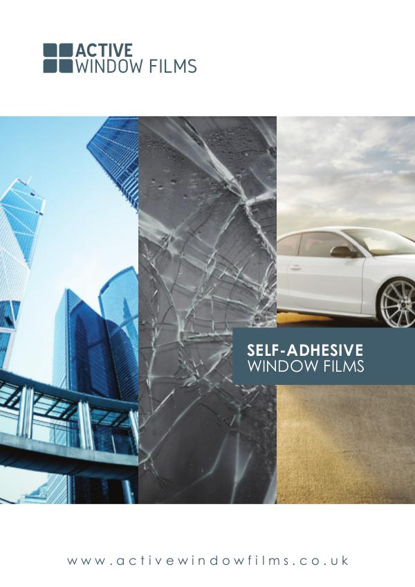 Active Window Films Design Film New Collection Active Window Films Brochure