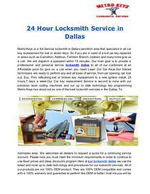 Metro-KeysLocksmithService