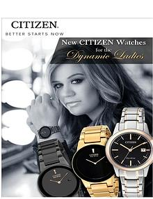 New Citizen Watches for the Dynamic Ladies