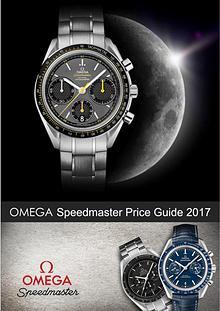 OMEGA Speedmaster Price Guide 2017