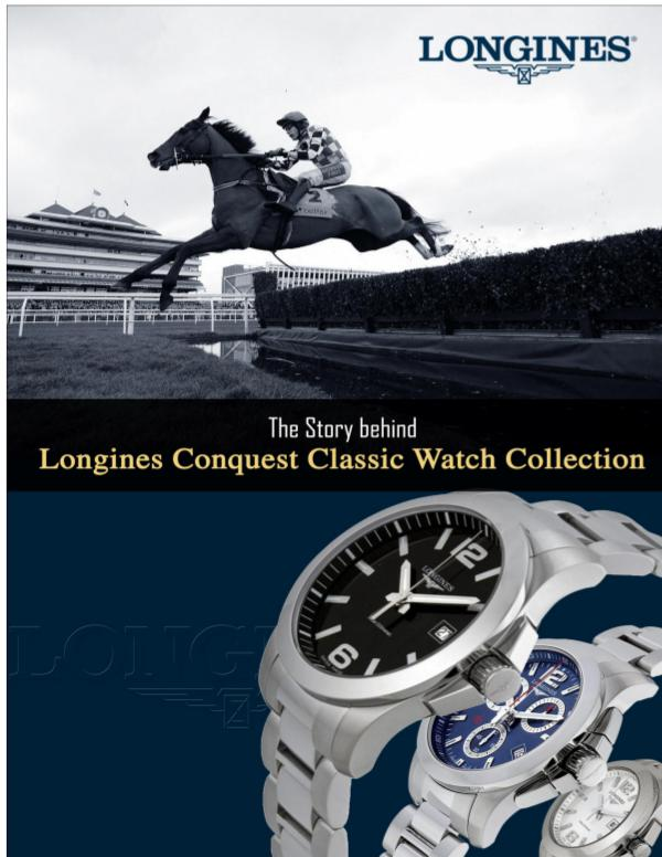 Story Behind Longines Conquest Classic Watch Collection Story Behind Longines Conquest Classic Watch Colle