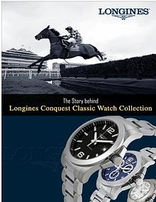 Story Behind Longines Conquest Classic Watch Collection