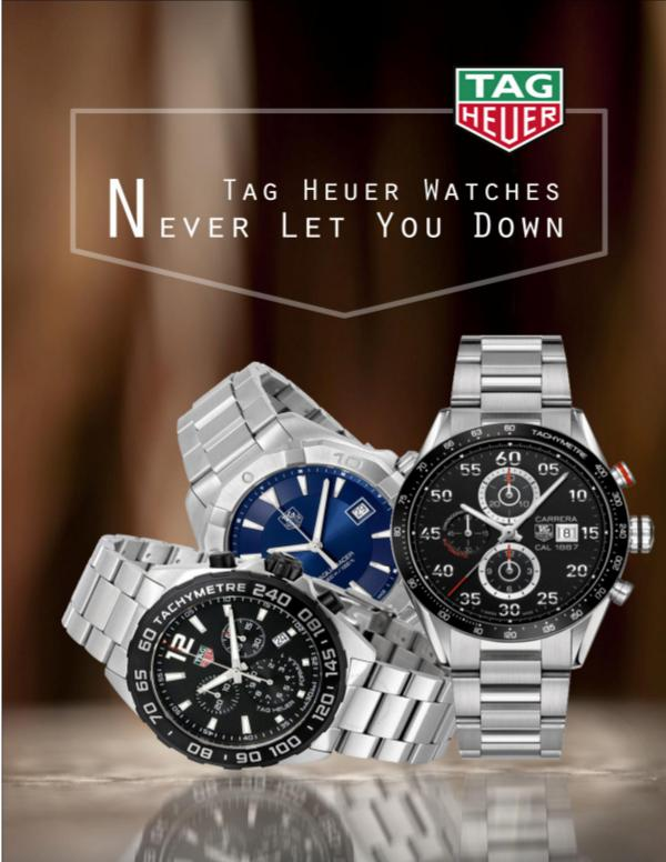 Tag Heuer Watches- Never Let You Down TAG Heuer Watches, TAG Heuer, Luxury Waches