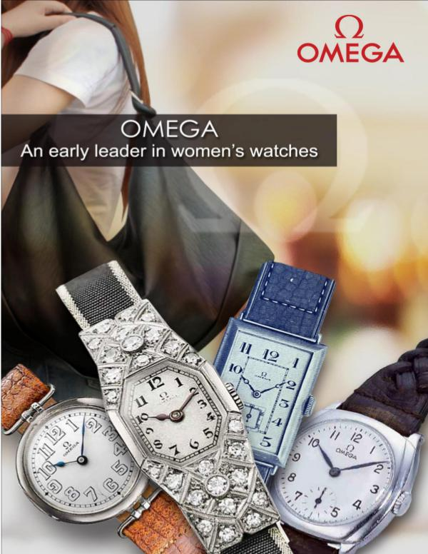 Omega An early leader in women's watches OMEGA- An Early Leader in Women's Watches