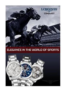 Longines Conquest – Elegance in the World of Sports
