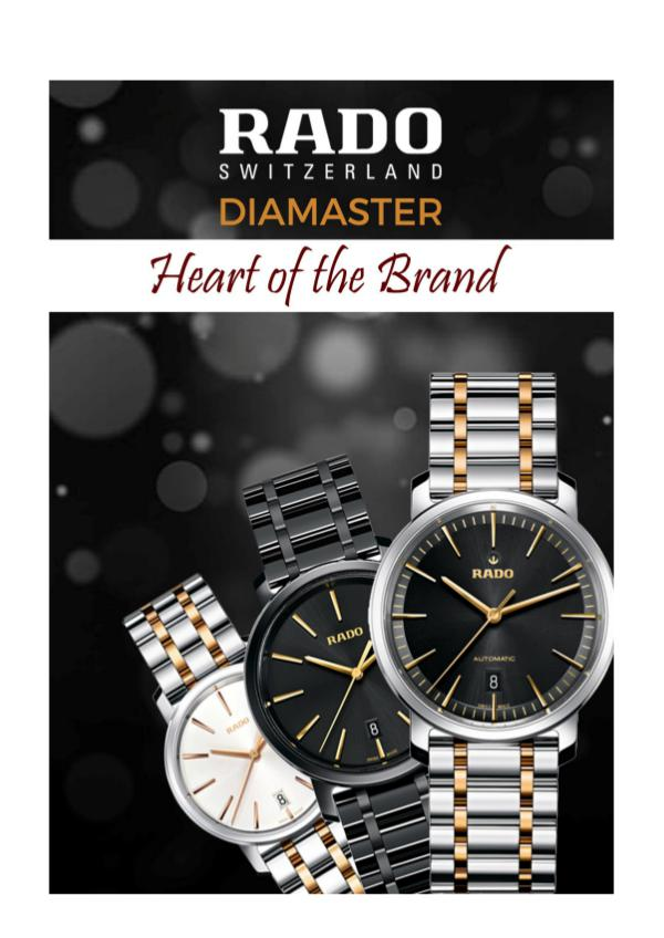 Rado Diamaster-Heart of the Brand Rado Diamaster-Heart of the Brand