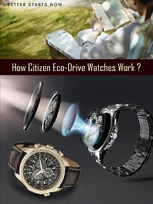 How Citizen Eco-Drive Watches Work?