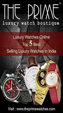 Luxury Watches Online - Top 5 Best Selling Luxury Watches in India