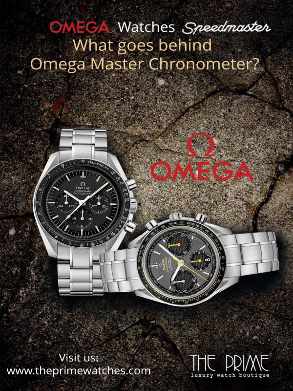 What goes behind Omega Master Chronometer? Omega Watches Speedmaster -What goes behind Omega
