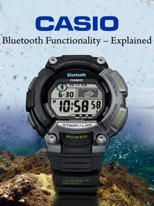 Casio Bluetooth Functionality – Explained Casio Bluetooth Functionality – Explained