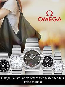 Omega Constellation Affordable Watch Models Price in India