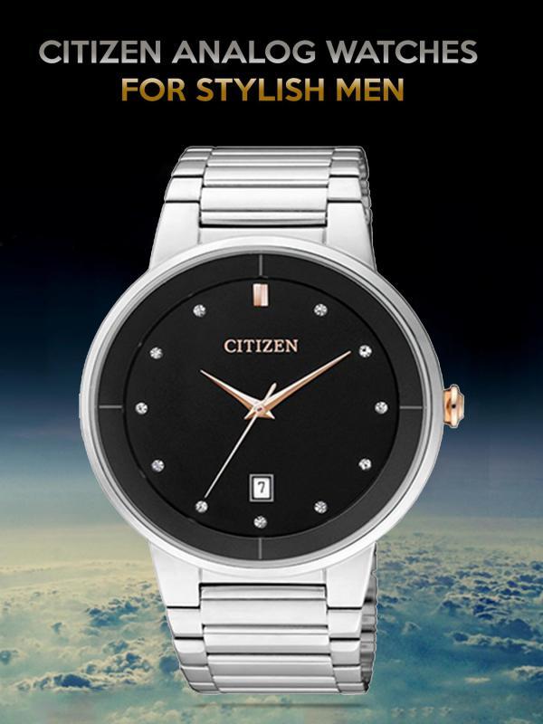 Citizen Analog Watches for Stylish Men Citizen Analog Watches for Stylish Men