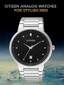 Citizen Analog Watches for Stylish Men