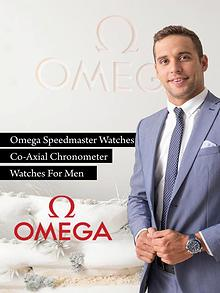 Omega Speedmaster Watches Co-Axial Chronometer Watches For Men