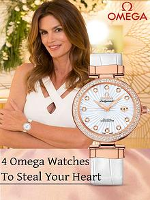 4 Omega Watches To Steal Your Heart