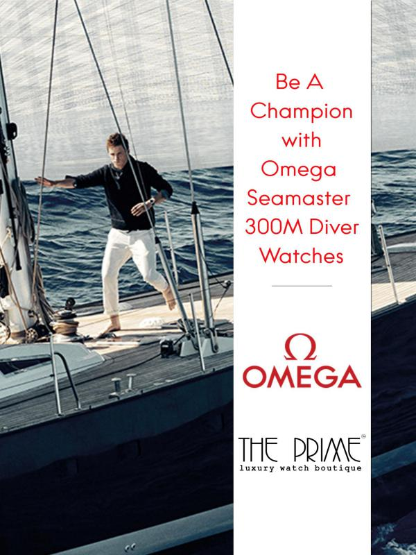 Be A Champion with Omega Seamaster 300M Diver Watches Be A Champion with Omega Seamaster 300M Diver Watc