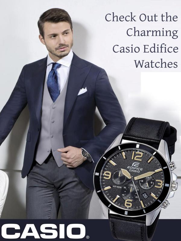 Check Out the Charming Casio Edifice Watches Check Out the Charming Casio Edifice Watches