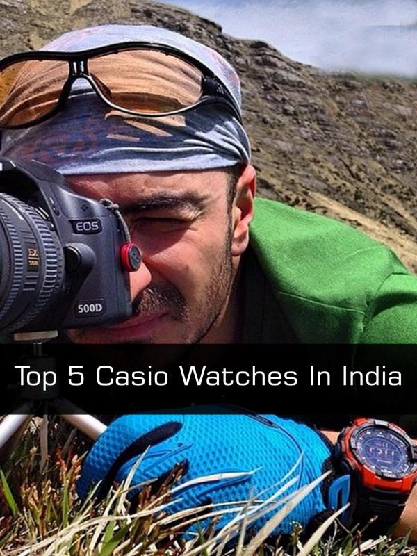 Top 5 Casio Watches in India Top 5 Casio Watches in India