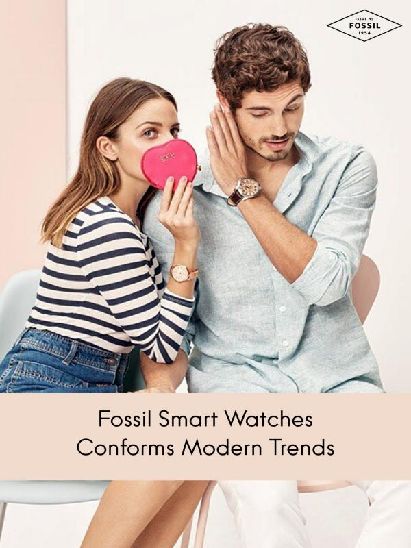 Fossil Smart Watches Conforms Modern Trends Fossil Smart Watches Conforms Modern Trends