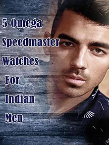 5 Omega Speedmaster Watches for Indian Men