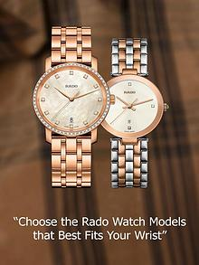 Choose the Rado Watch Models that Best Fits Your Wrist