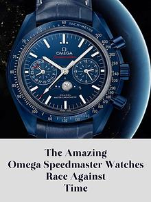 The Amazing Omega Speedmaster Watches Race Against Time