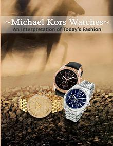 Michael Kors Watches – An Interpretation of Today's Fashion