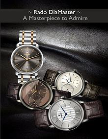 Rado DiaMaster – A Masterpiece to Admire