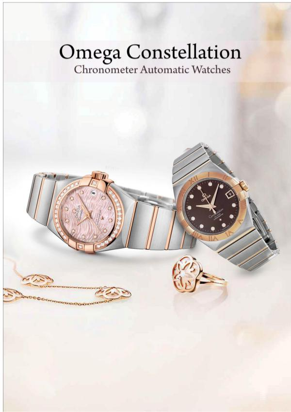 Omega Constellation Chronometer Automatic Watches Omega Speedmaster Moonwatch