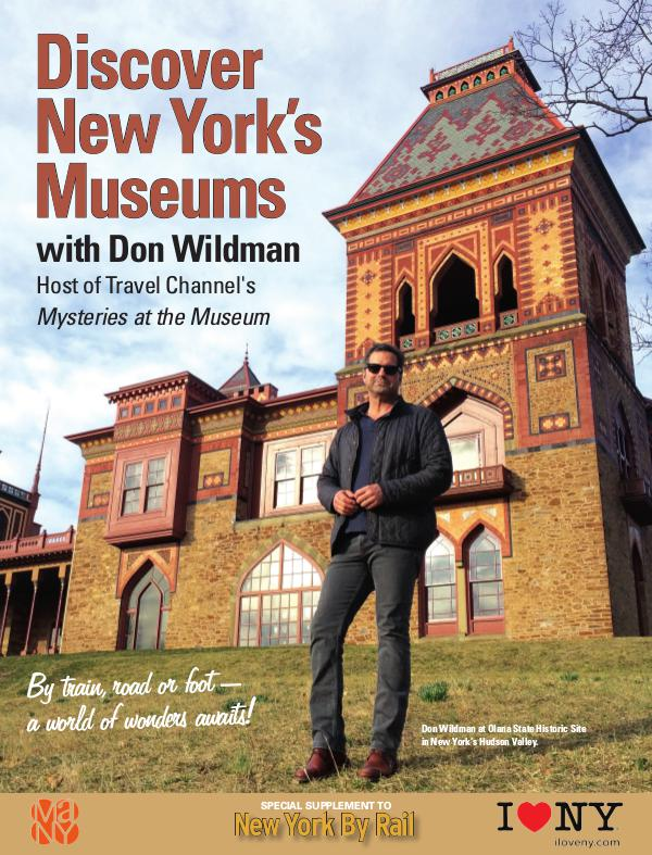 Discover New York's Museums with Don WIldman 1st ed.