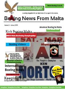 Malta Boxing Council News Issue 2 - June 2013