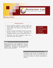 Distinctive Law