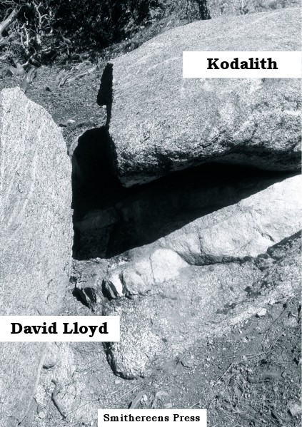 Smithereens Press Chapbooks SP9 - 'Kodalith' by David Lloyd