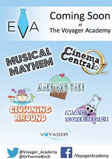 Coming Soon at The Voyager Academy